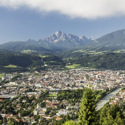 Innsbruck with Mountains