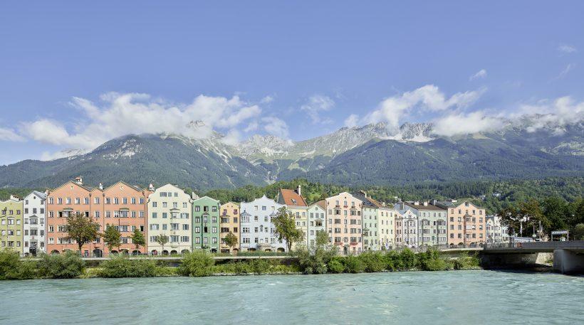 Innsbruck with Nordkette, Tyrol
