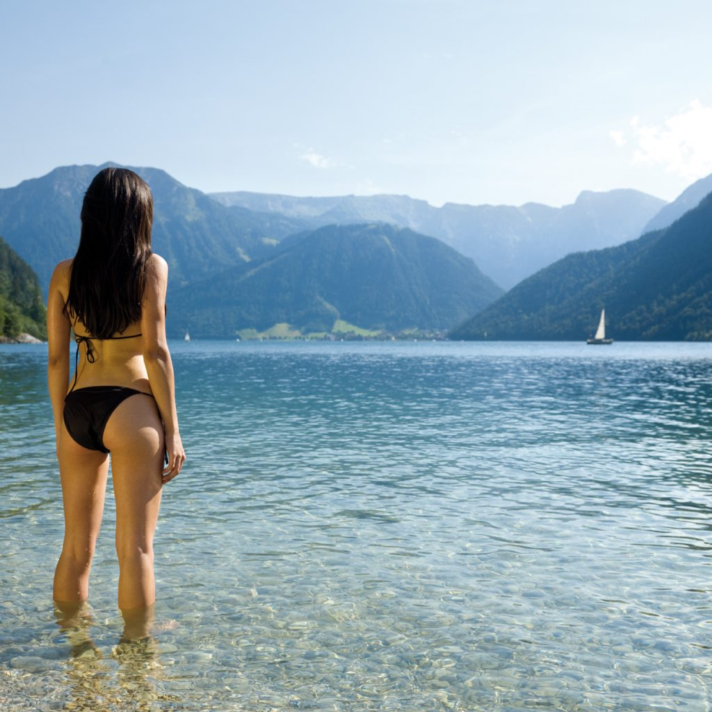 Swimming in the Achensee