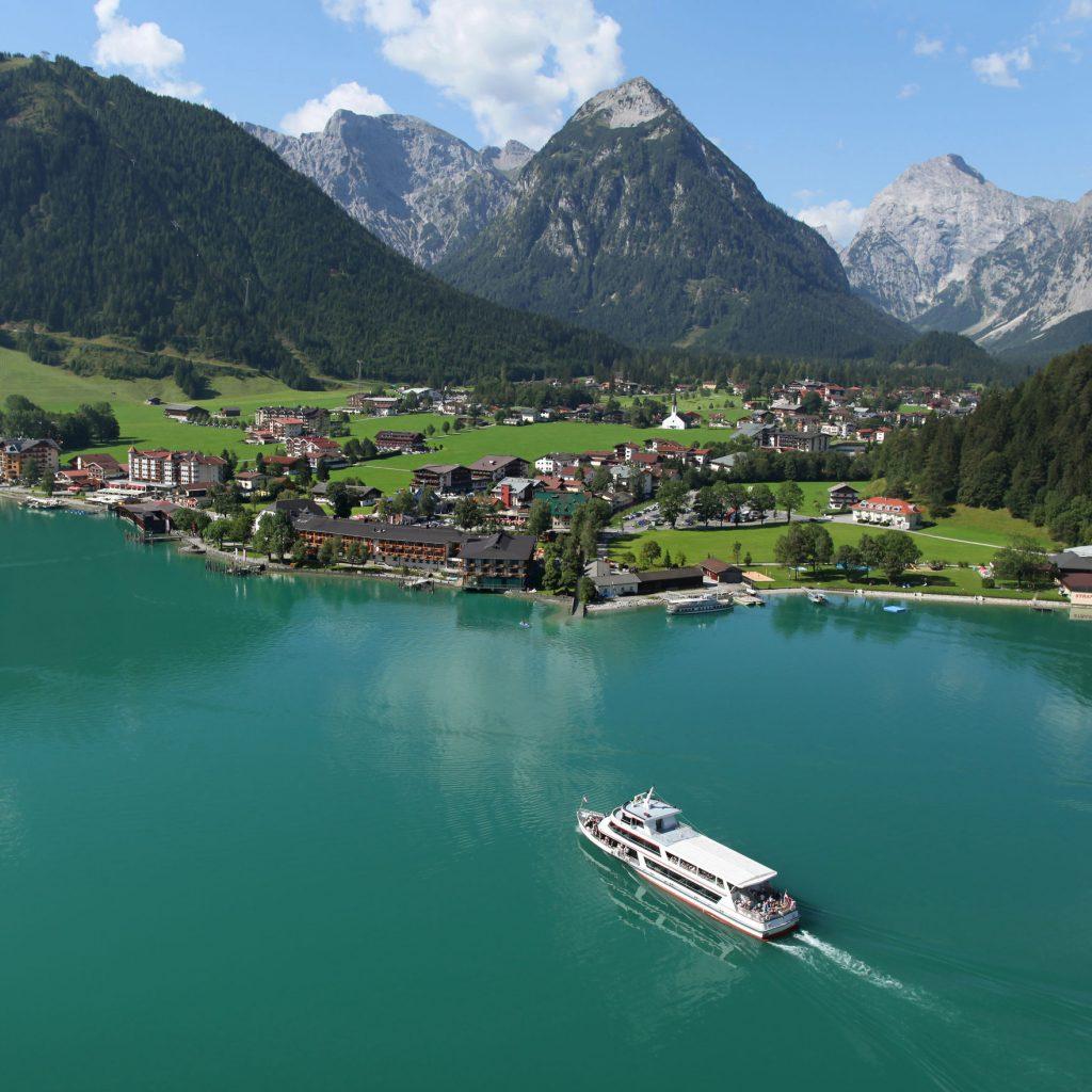 Pertisau at Achensee in Summer