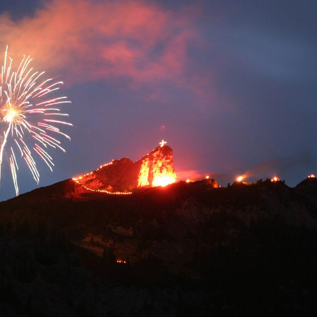 Fireworks at Achensee