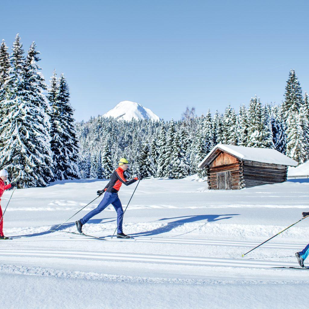 Crosscountry Skiing in Seefeld