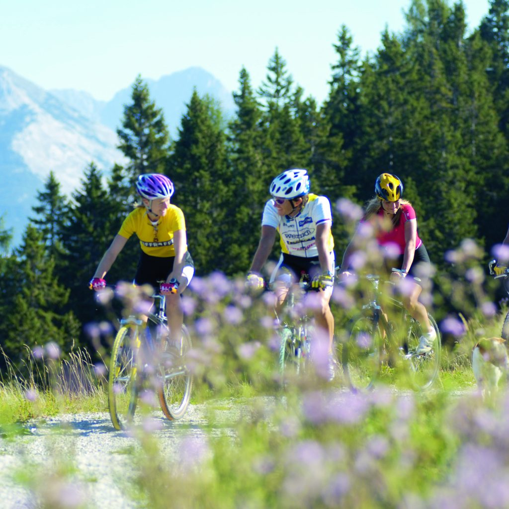 Mountainbike in Seefeld