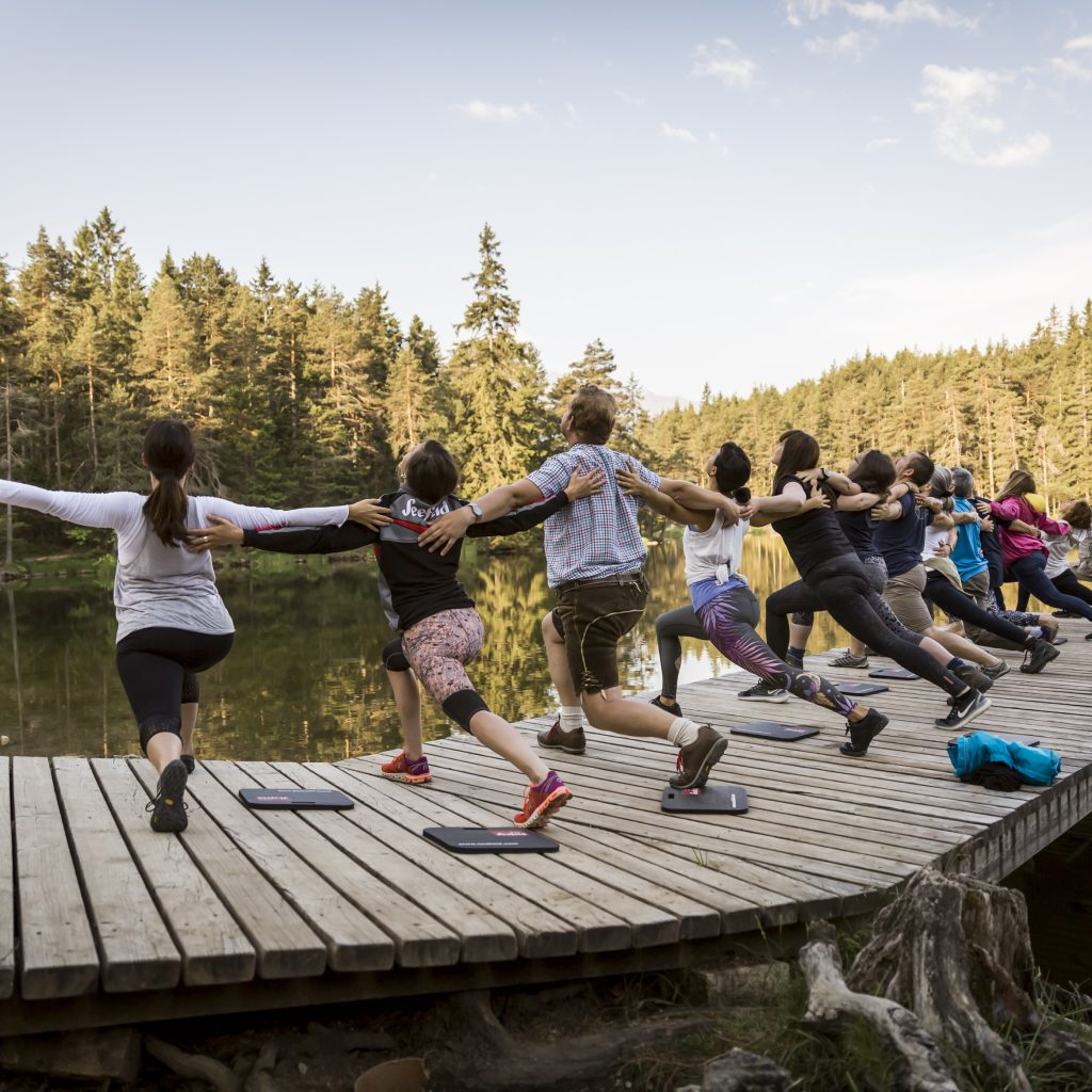 Yoga at the Lake in Seefeld