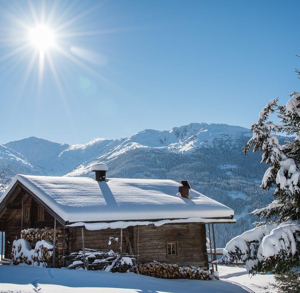 Hüttegg in Winter