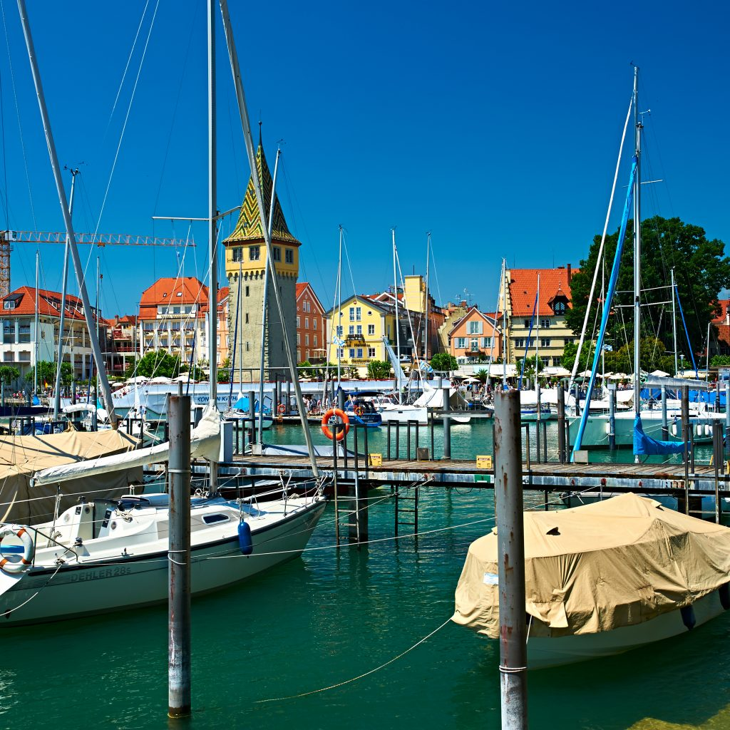 Port of Lindau, Lake Constance