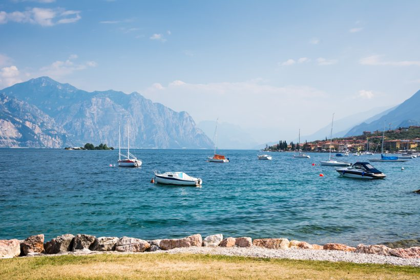 Sailing Boats at Lake Garda