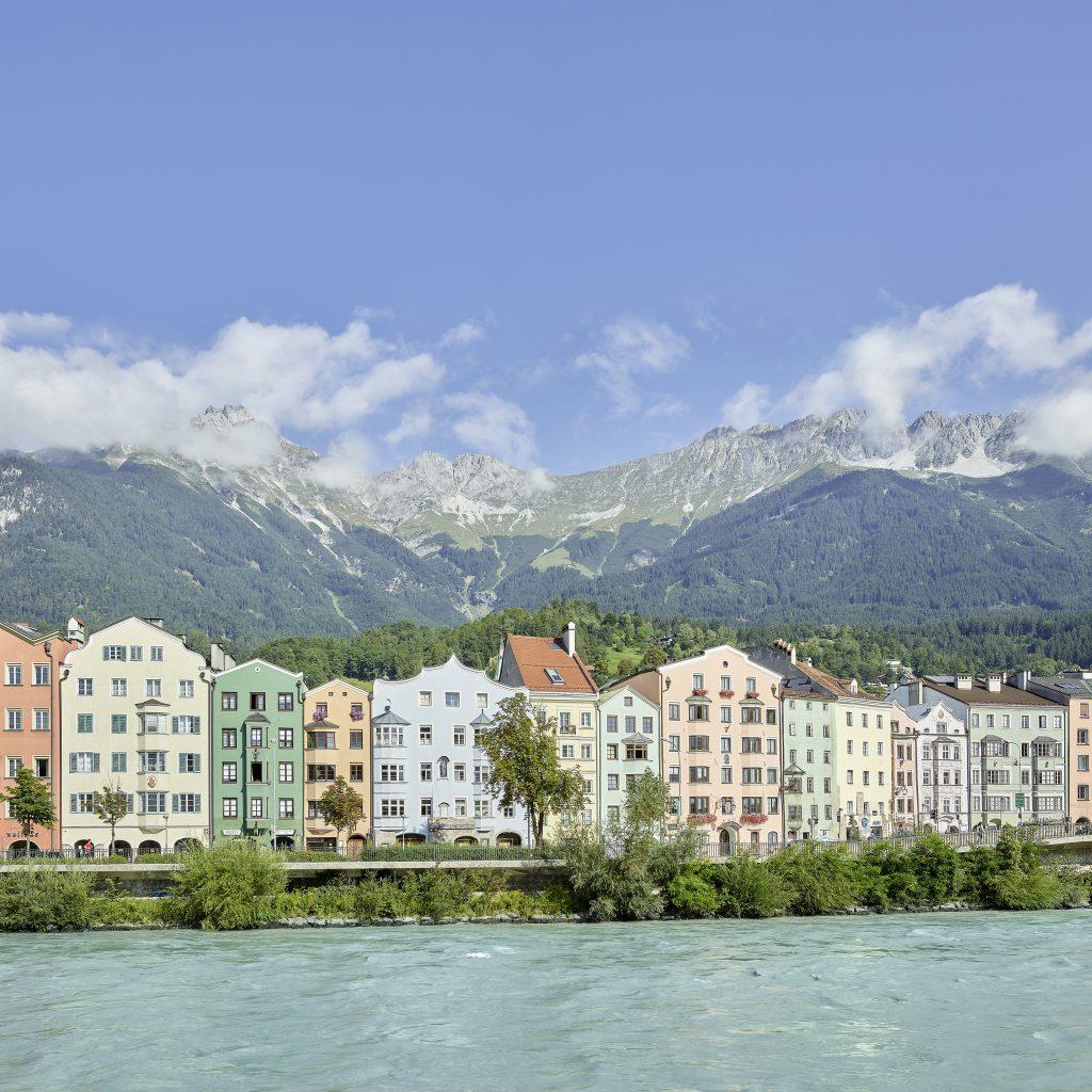 Innsbruck with nordkette